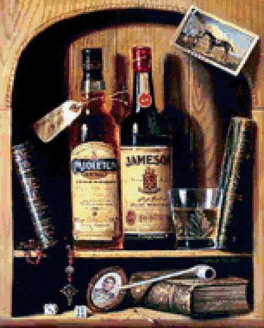 Irish Whiskey, виски, бутылки,