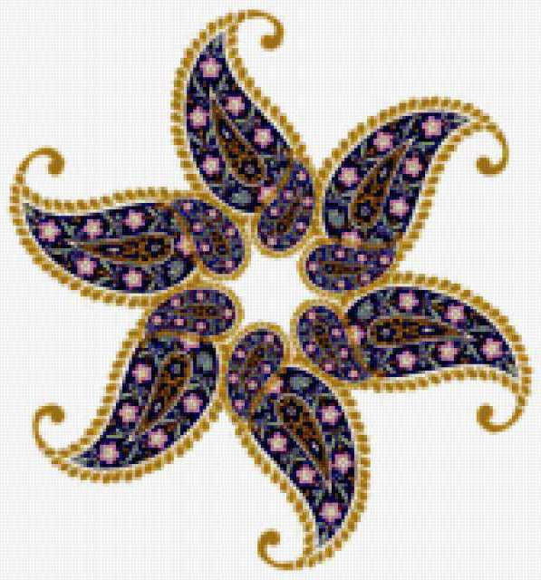 Схемы вышивки крестом арабские