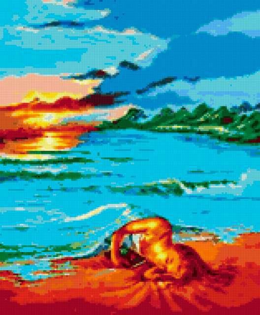 Сон на пляже, предпросмотр