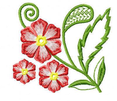 Цветочный узор, скатерти