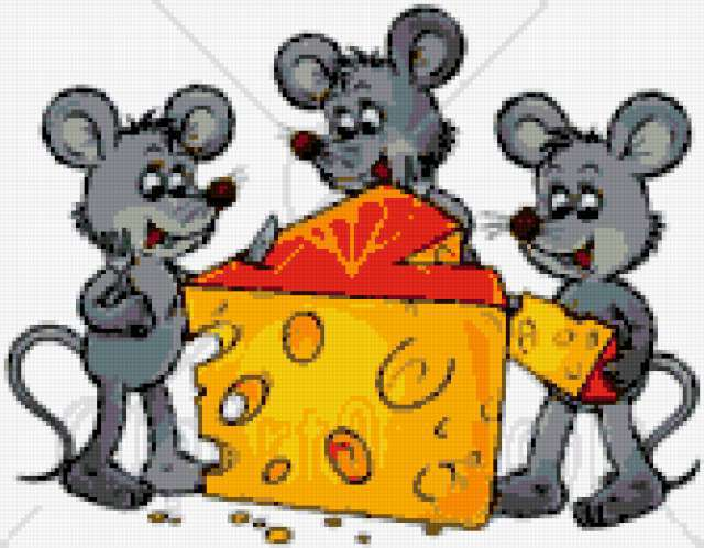 Мышки и сыр, смешные картинки,
