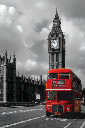 London Red Bus, лондон, город