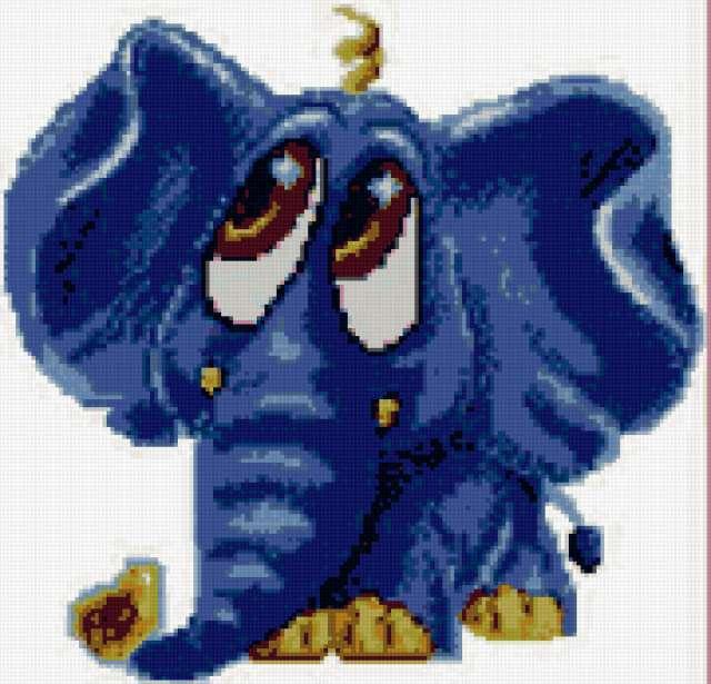 "Подушка ""Слон"", предпросмотр"