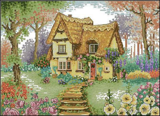 Дом, милый дом, природа, двор,