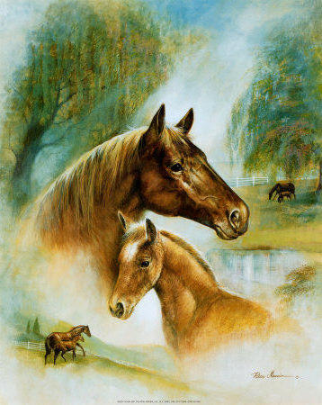 К схеме вышивки «Лошадь и
