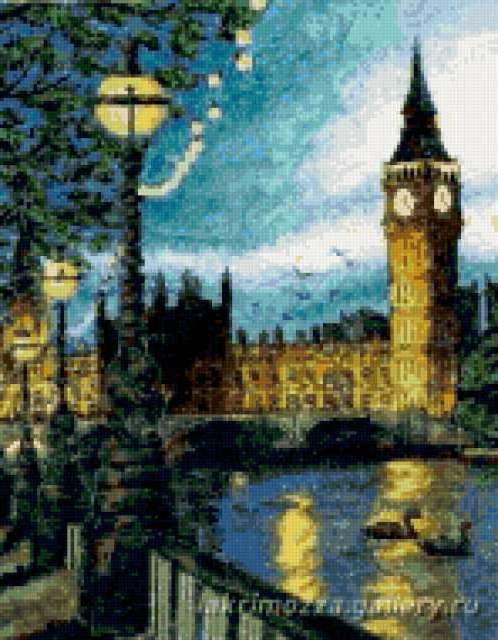 Ночной Лондон, предпросмотр