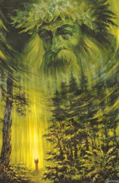 Дух леса, оригинал