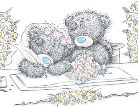 Мишка Тедди. Свадьба, оригинал