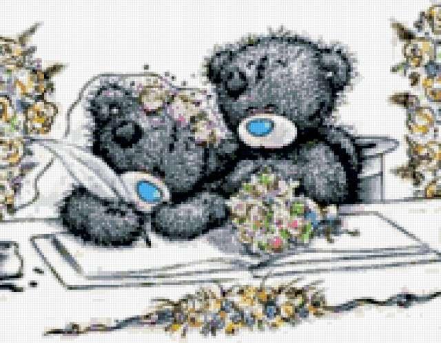 Мишка Тедди. Свадьба