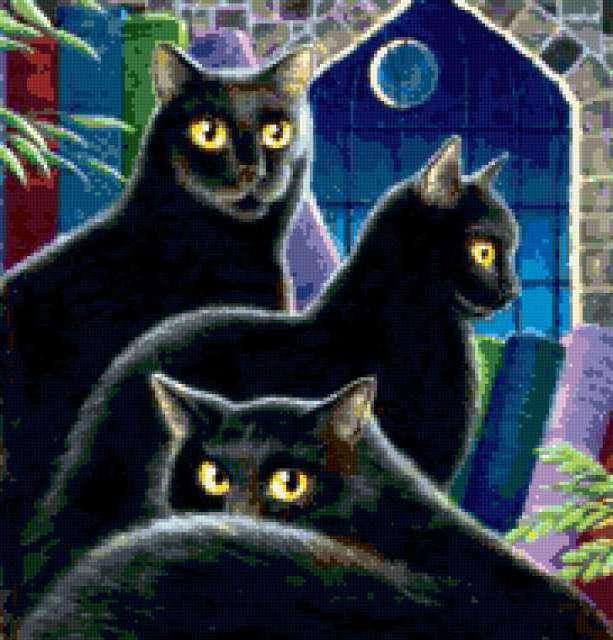 Черные кошки..., предпросмотр