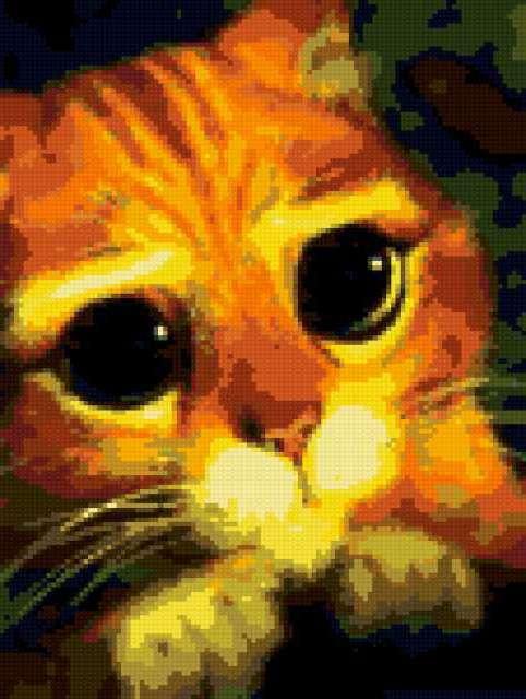 Кот из шрека, предпросмотр