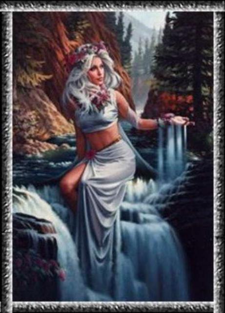 Нимфа воды, оригинал