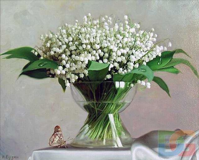 Ландыши, полевые цветы, букеты