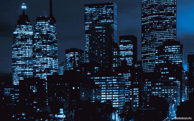 Ночные небоскребы, оригинал