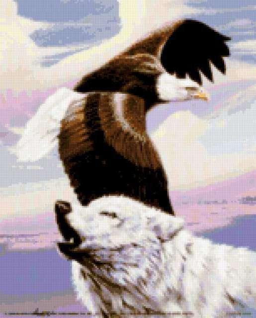 Волк и орел, предпросмотр