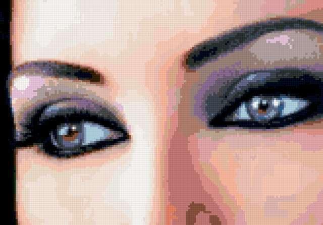 Восток-прекрасные глаза