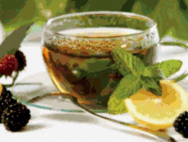 Чай с мятой, предпросмотр