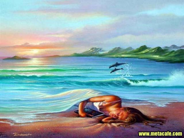 Одеяло из воды, природа, море