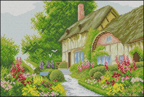 Сельский дом, оригинал