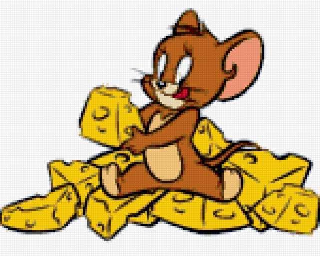 Мышка с сыром, предпросмотр