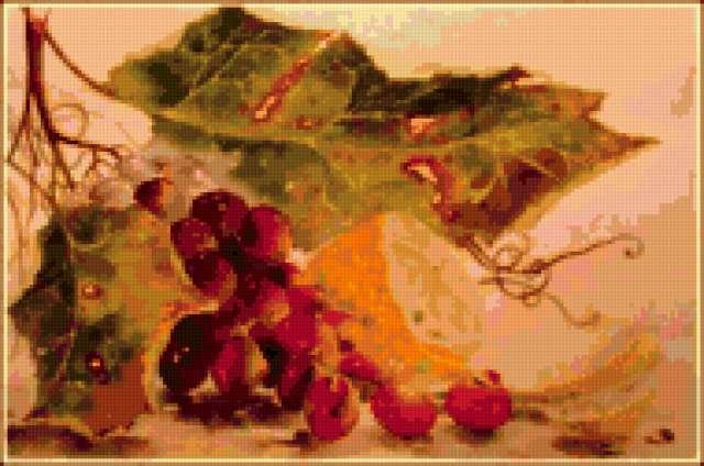 Лимон и виноград, предпросмотр