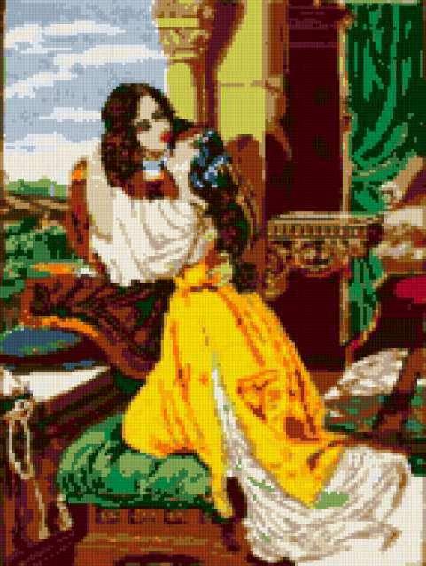 Вышивка ромео и джульетта 11