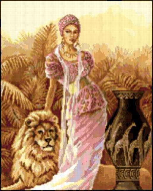 Девушка со львом: предпросмотр: http://xrest.ru/overview/Девушка со львом-524150