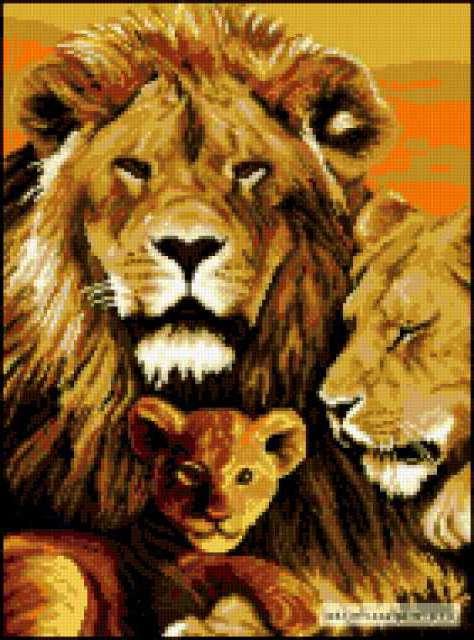 Семья львов, предпросмотр