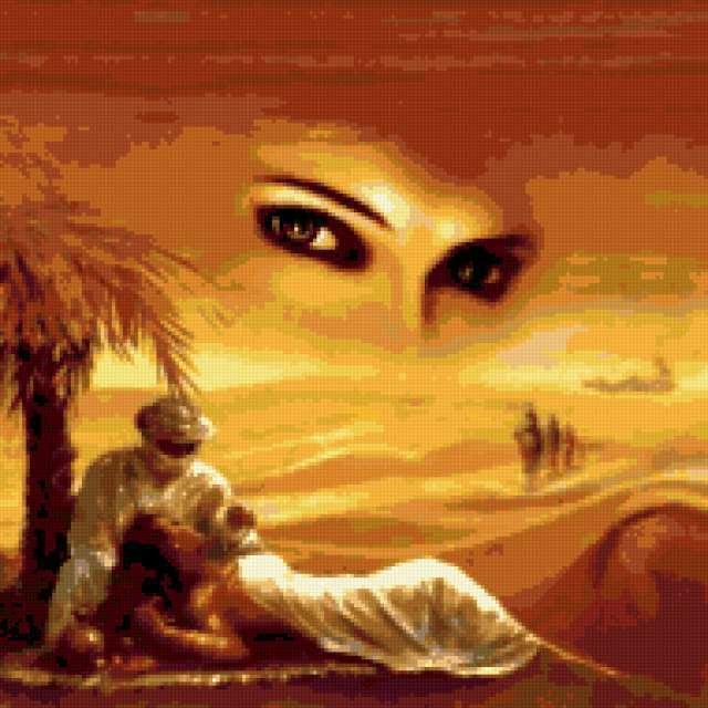 Духи пустыни, восток, женщина,