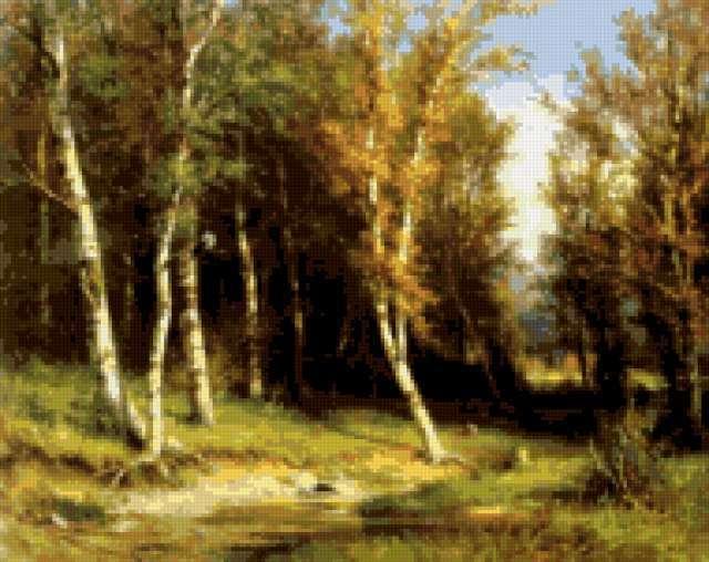 Шишкин. Лес перед грозой, пейжаз