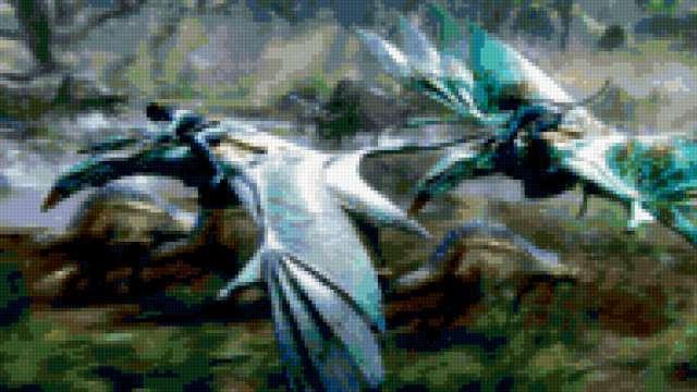 К схеме вышивки «Avatar» нет