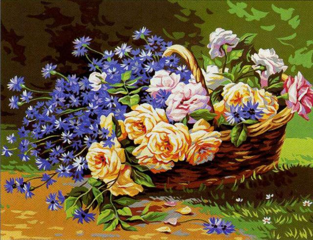 Летние цветы, цветы
