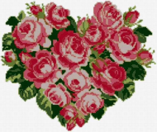 Сердце из роз 4, предпросмотр