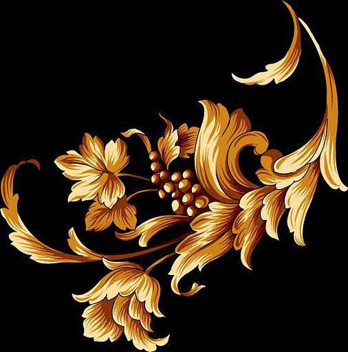 схему вышивки «Золотой