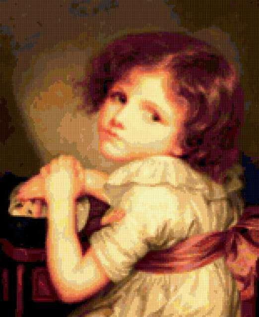 Девочка с куклой, предпросмотр
