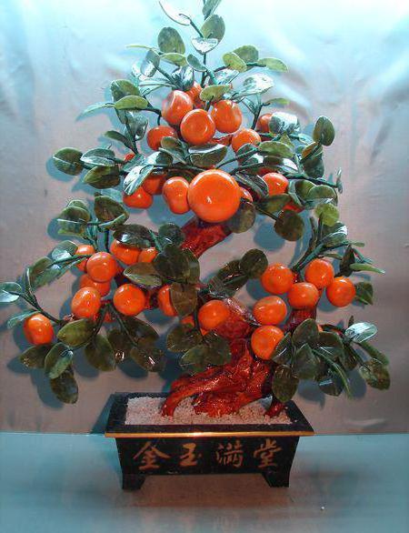 Мандариновое дерево, оригинал