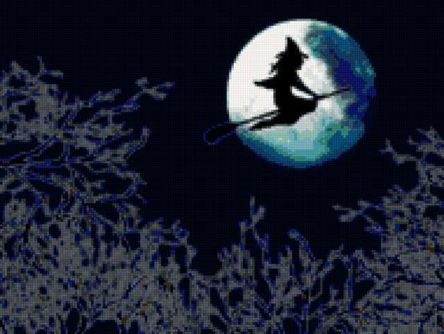 Ведьма в полнолуние