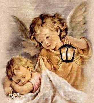 Ангел с ребенком схема вышивки крестом