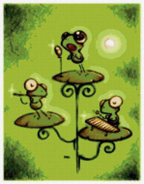 Лягушата, животные