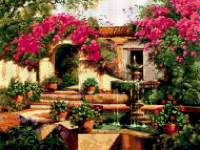 Цветущий сад 2, предпросмотр