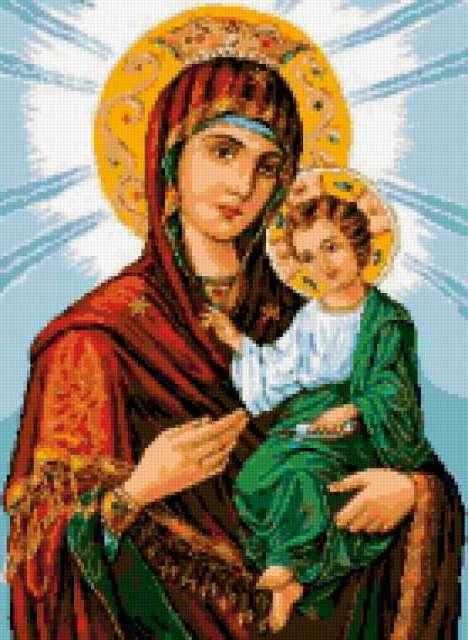 Иверская икона Божьей Матери,