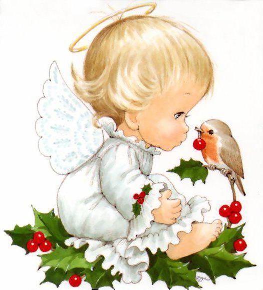 ангелочки картинки детские