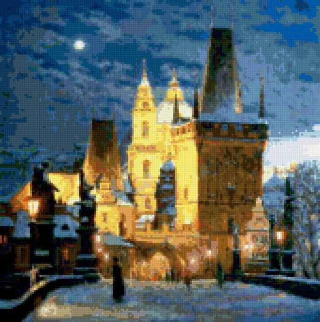 Вечерняя Прага, страны