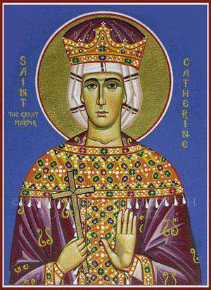 Св.Екатерина, оригинал
