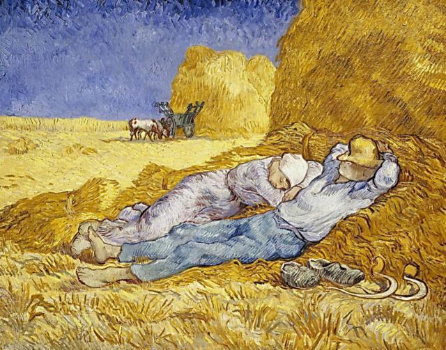 Полуденный отдых Ван Гог,