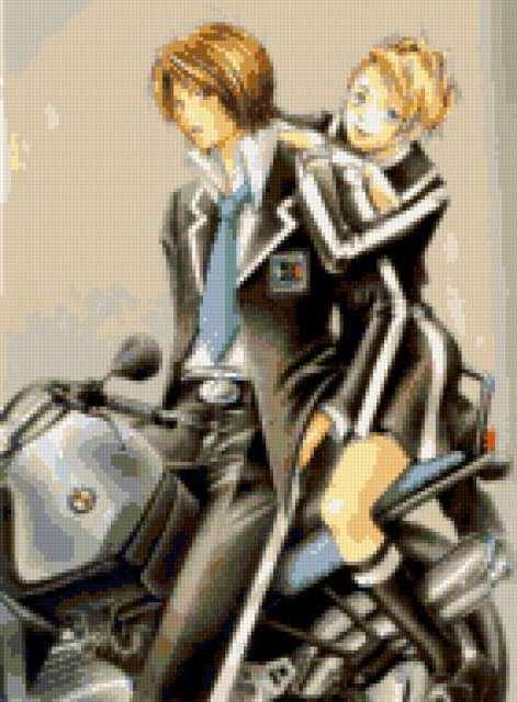 Вдвоём на мотоцикле