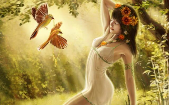 Лесная фея, волшебство