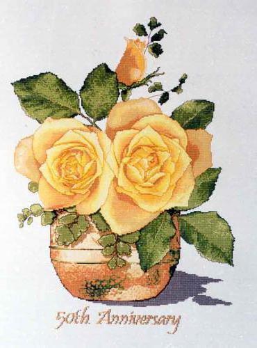 Желтые розы, оригинал