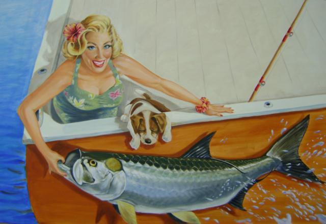 Улов рыбачки, оригинал