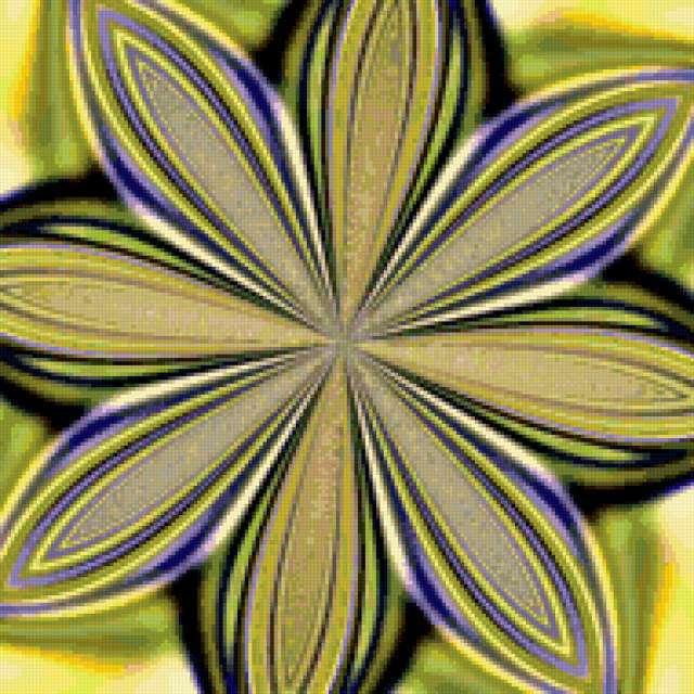 Схемы для вышивки фракталов